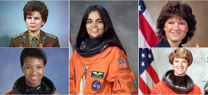 Top 5 Female Astronauts
