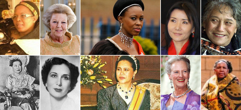 Female Queens And Empresses